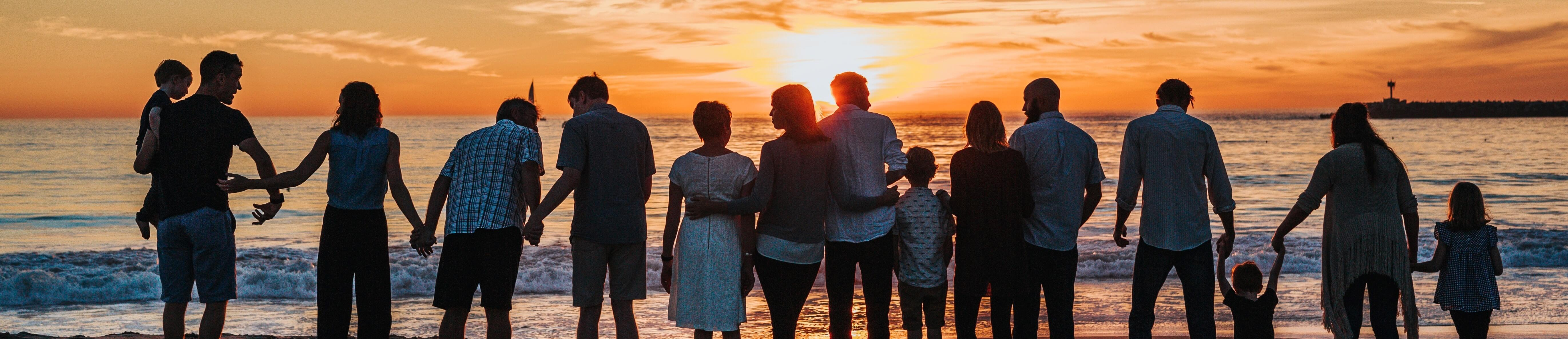 Family sunset cropped